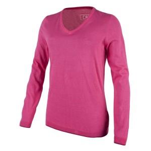 ביגוד סמפ לנשים CMP  Urban Knitted Pullover - ורוד