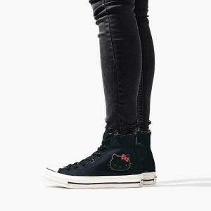נעליים קונברס לנשים Converse Chuck 70 x Hello Kitty High Top - שחור