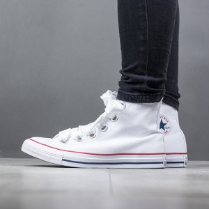 נעליים קונברס לנשים Converse Chuck Taylor AS Big Eyelets High Top - לבן