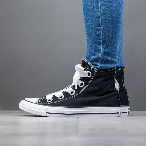 נעליים קונברס לנשים Converse Chuck Taylor AS Big Eyelets High Top - שחור