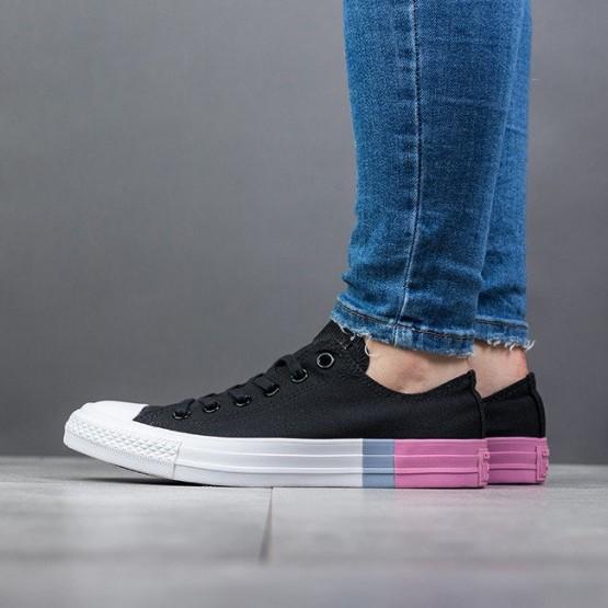 נעליים קונברס לנשים Converse Chuck Taylor All Star Colorblock OX Low Top - שחור/ורוד