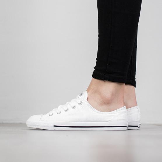 נעליים קונברס לנשים Converse Chuck Taylor All Star Daintyu Low Top - לבן
