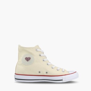 נעליים קונברס לנשים Converse Chuck Taylor All Star Denim Love High Top - צהוב