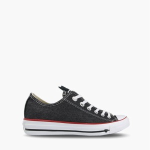 נעליים קונברס לנשים Converse Chuck Taylor All Star Denim Love Low Top - שחור
