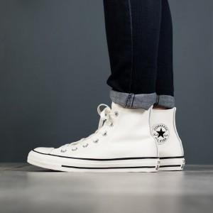 נעליים קונברס לנשים Converse Chuck Taylor All Star High Top - לבן