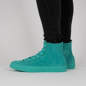 נעליים קונברס לנשים Converse Chuck Taylor All Star High Top - טורקיז