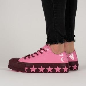 נעליים קונברס לנשים Converse Chuck Taylor All Star Lift Ox Miley - ורוד