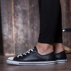 נעליים קונברס לנשים Converse Chuck Taylor Dainty OX Low Top - שחור