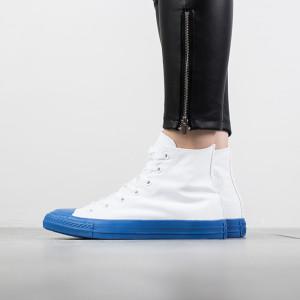 נעליים קונברס לנשים Converse Chuck Taylor Rubber High Top - לבן