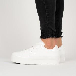נעליים קונברס לנשים Converse One Star Platform - לבן מלא