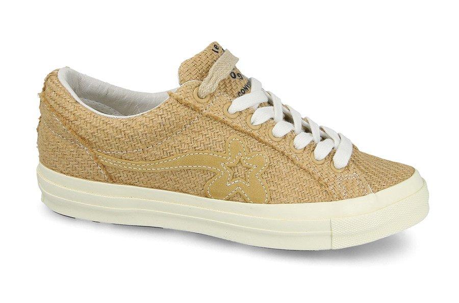 נעליים קונברס לנשים Converse One Star x Golf Le Fleur Low Top - חום