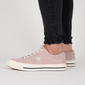 נעליים קונברס לנשים Converse One Star - ורוד בהיר