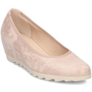 נעלי עקב נמוכות גאדור לנשים Gabor 8532064 - ורוד