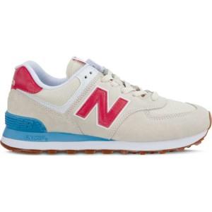 נעליים ניו באלאנס לנשים New Balance WL574FLA SUMMER DUSK - בז'