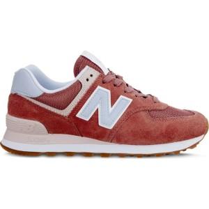 נעליים ניו באלאנס לנשים New Balance WL574FLD SUMMER DUSK - אדום