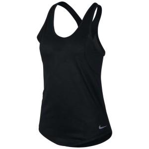 ביגוד נייק לנשים Nike  10K Jacquard - שחור
