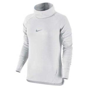 ביגוד נייק לנשים Nike  Aeroreact Cowl - לבן