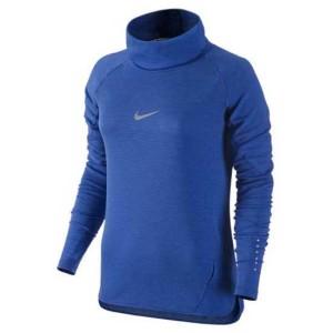 ביגוד נייק לנשים Nike  Aeroreact Cowl - כחול