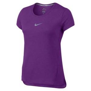 ביגוד נייק לנשים Nike  Aeroreact - סגול