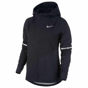 בגדי חורף נייק לנשים Nike  Aeroshield Zonal Hooded - שחור
