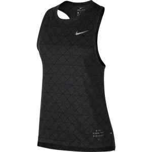 ביגוד נייק לנשים Nike  Breathe Tailwind RD - שחור