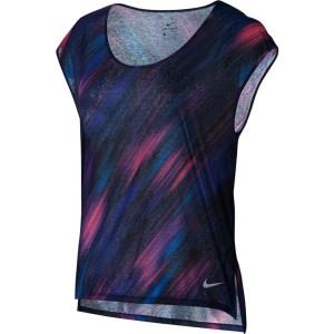 ביגוד נייק לנשים Nike  Breathe Top S/S Cool Printed - צבעוני