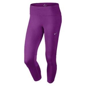 ביגוד נייק לנשים Nike  Dri Fit Epic Run Crops - סגול
