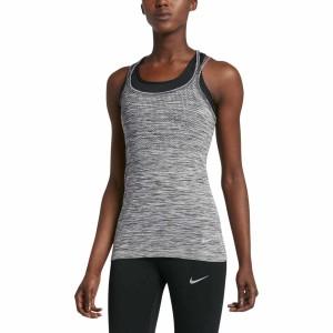 ביגוד נייק לנשים Nike  Dri Fit Knit Tank - אפור
