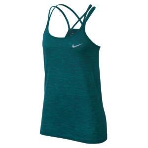 ביגוד נייק לנשים Nike  Dri Fit Knit Tank - ירוק