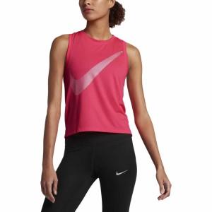 ביגוד נייק לנשים Nike  Dry Tank City Core - ורוד