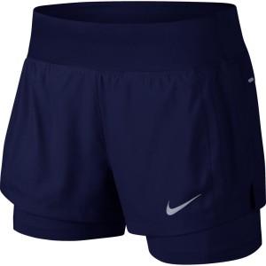 ביגוד נייק לנשים Nike  Eclipse 2 In 1 - כחול