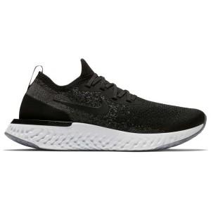 נעליים נייק לנשים Nike  Epic React Flyknit - שחור/אפור