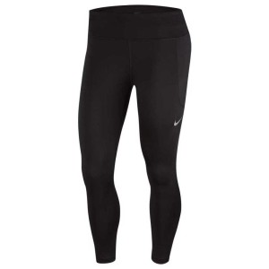 ביגוד נייק לנשים Nike  Fast Crop - שחור