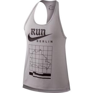 ביגוד נייק לנשים Nike  Miler Racer Berlin - אפור