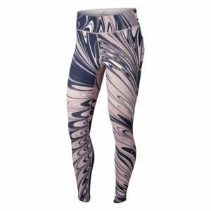 ביגוד נייק לנשים Nike  Power Epic Lux Print - כחול