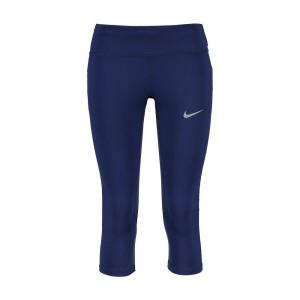ביגוד נייק לנשים Nike  Power Epic Run Capri - כחול
