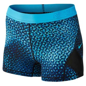 ביגוד נייק לנשים Nike  Pro Cool Hypercool Short 3In Woven KLP - כחול