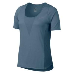 ביגוד נייק לנשים Nike  Zonal Cooling Relay S/S Top - כחול
