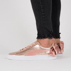 נעליים פומה לנשים PUMA  Basket Bow Luxe Wns - אפור/כחול