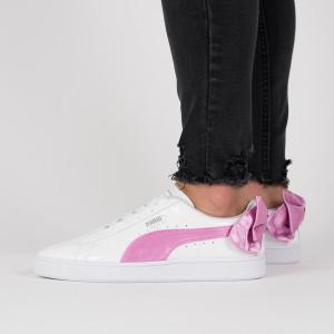נעליים פומה לנשים PUMA Basket Bow Patent Jr - ורוד/לבן