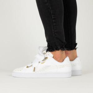 נעליים פומה לנשים PUMA Basket Heart Ath Lux - לבן