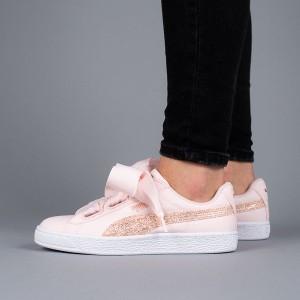 נעליים פומה לנשים PUMA Basket Heart Canvas - ורוד