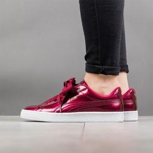 נעליים פומה לנשים PUMA Basket Heart Glam Jr - בורדו