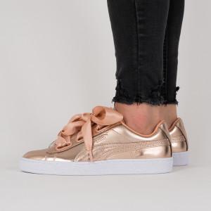 נעליים פומה לנשים PUMA Basket Heart Luxe - זהב