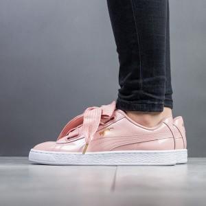 נעליים פומה לנשים PUMA Basket Heart Patent - ורוד