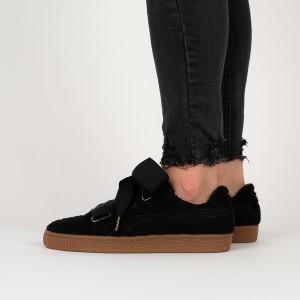 נעליים פומה לנשים PUMA Basket Heart Teddy - שחור