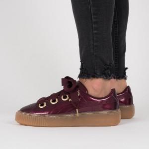 נעליים פומה לנשים PUMA Basket Platform Kiss - סגול