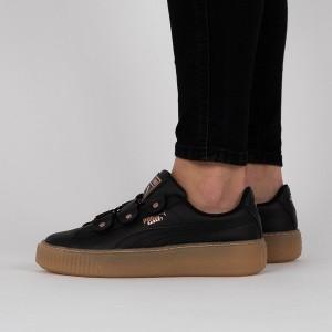 נעליים פומה לנשים PUMA Basket Platform Loops Jr - שחור