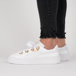 נעליים פומה לנשים PUMA Platform Kiss Ath Lux Wns - לבן
