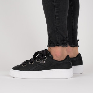 נעליים פומה לנשים PUMA Platform Kiss Ath Lux Wns - שחור